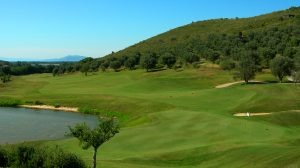 Il green del Golf Club Argentario