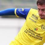Santiago Morero, difensore italo argentino, qui in maglia clivense (immagine tratta da: www.chievoverona.it)