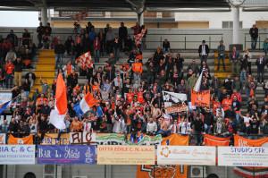 Tifosi della Pistoiese (foto di Giacomo Carobbi - Pistoia Sport)