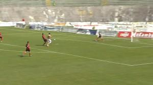 L'Aquila-Grosseto 0 a 1 - Carini salva su Pichlmann - www.sportube.tv