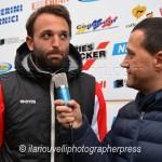 intervista a Lanzano dopo Albalonga-Grosseto 1 a 2