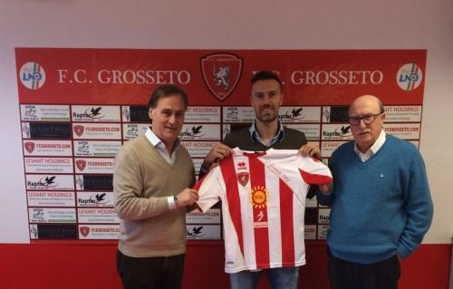 Torri presentato ufficialmente dal Football Club Grosseto - foto www.fcgrosseto.com