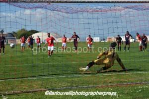 Il gol di Nappello su rigore