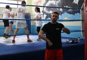 Giovanni De Carolis a bordo ring
