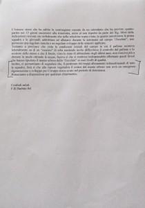 La risposta dei Barbini all'Fc Grosseto sull'ingiallimento del manto erboso dello Zecchini - pagina 2