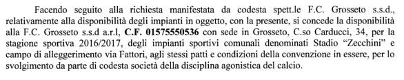 testo disponibilità Zecchini e Fattori 2016-17