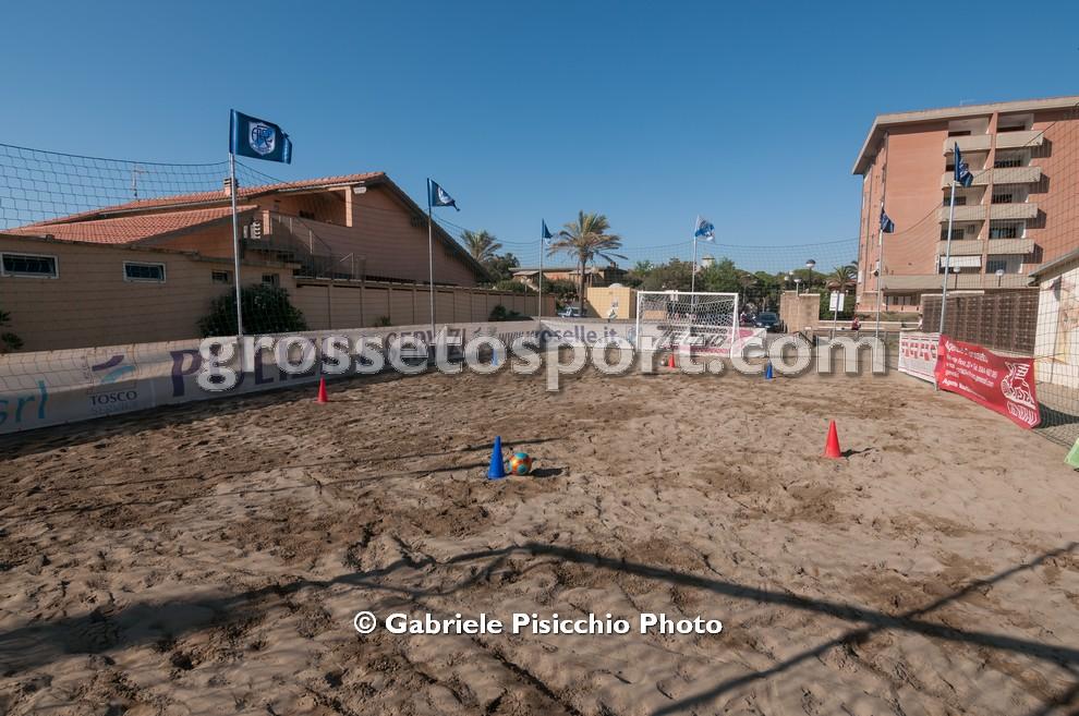 AC Roselle Football on the beach 1