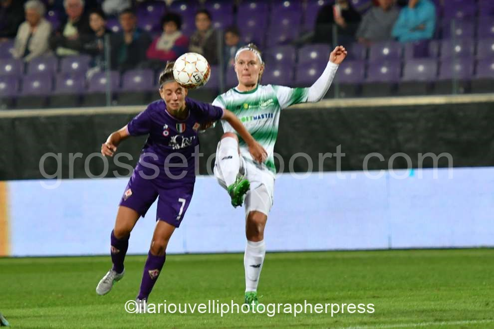 Fiorentina Women's vs Fortuna Hjorring (36)