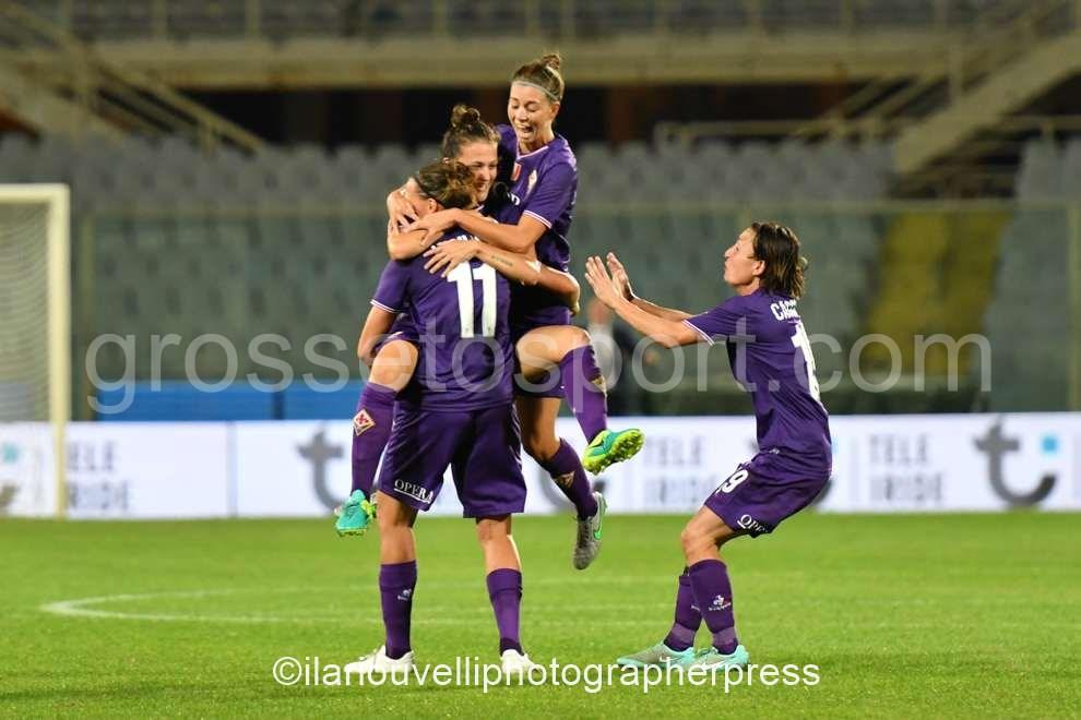 Fiorentina Women's vs Fortuna Hjorring (40)