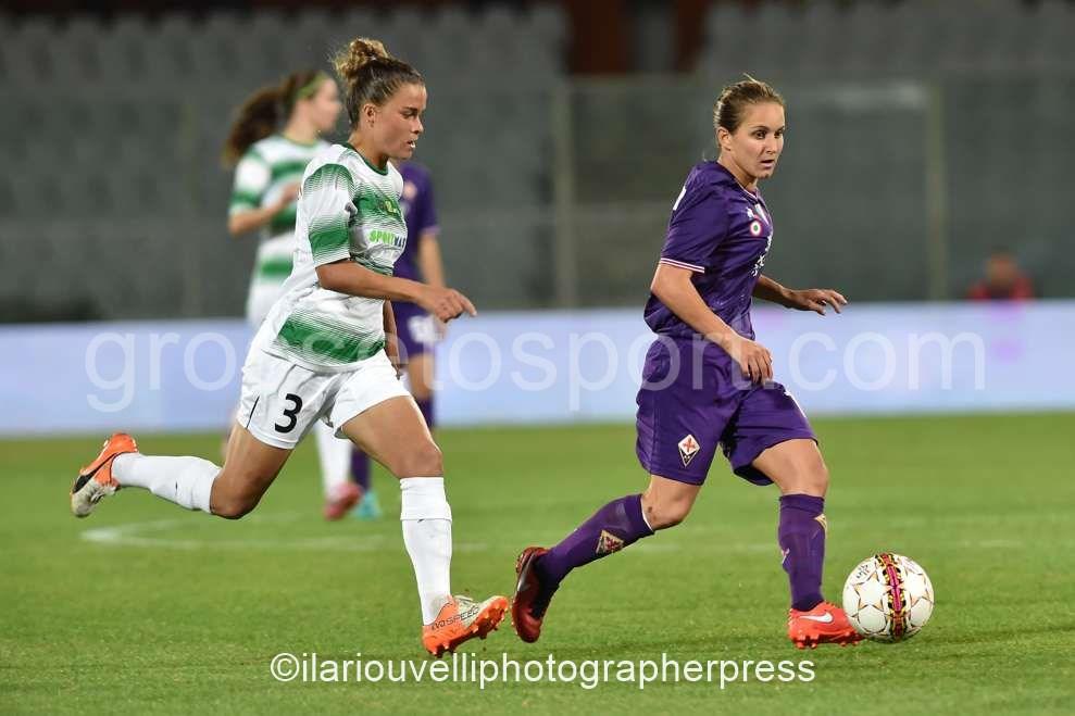 Fiorentina Women's vs Fortuna Hjorring (45)