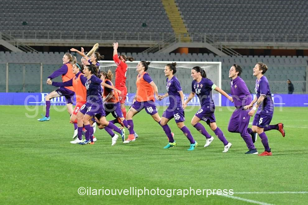 Fiorentina Women's vs Fortuna Hjorring (60)