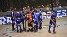 Il Follonica Hockey esulta dopo una rete