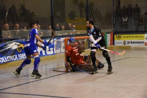 L'Hockey Follonica in azione