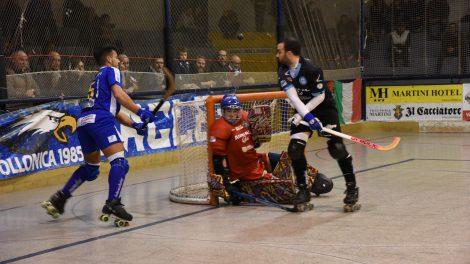 L'Hockey Follonica in azione