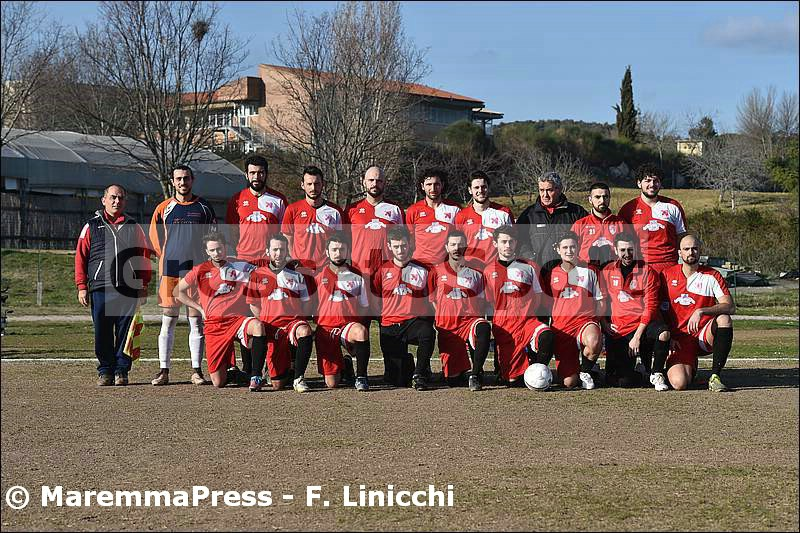 "Roccastrada 2017/2018, Seconda Categoria ""F"""