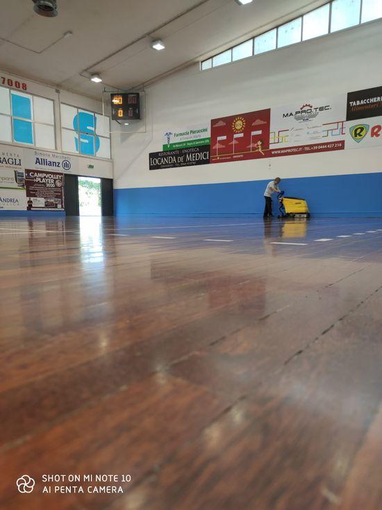 pallavolo grosseto 1978 lavori di manutenzione palazzetto dello sport maggio 2020