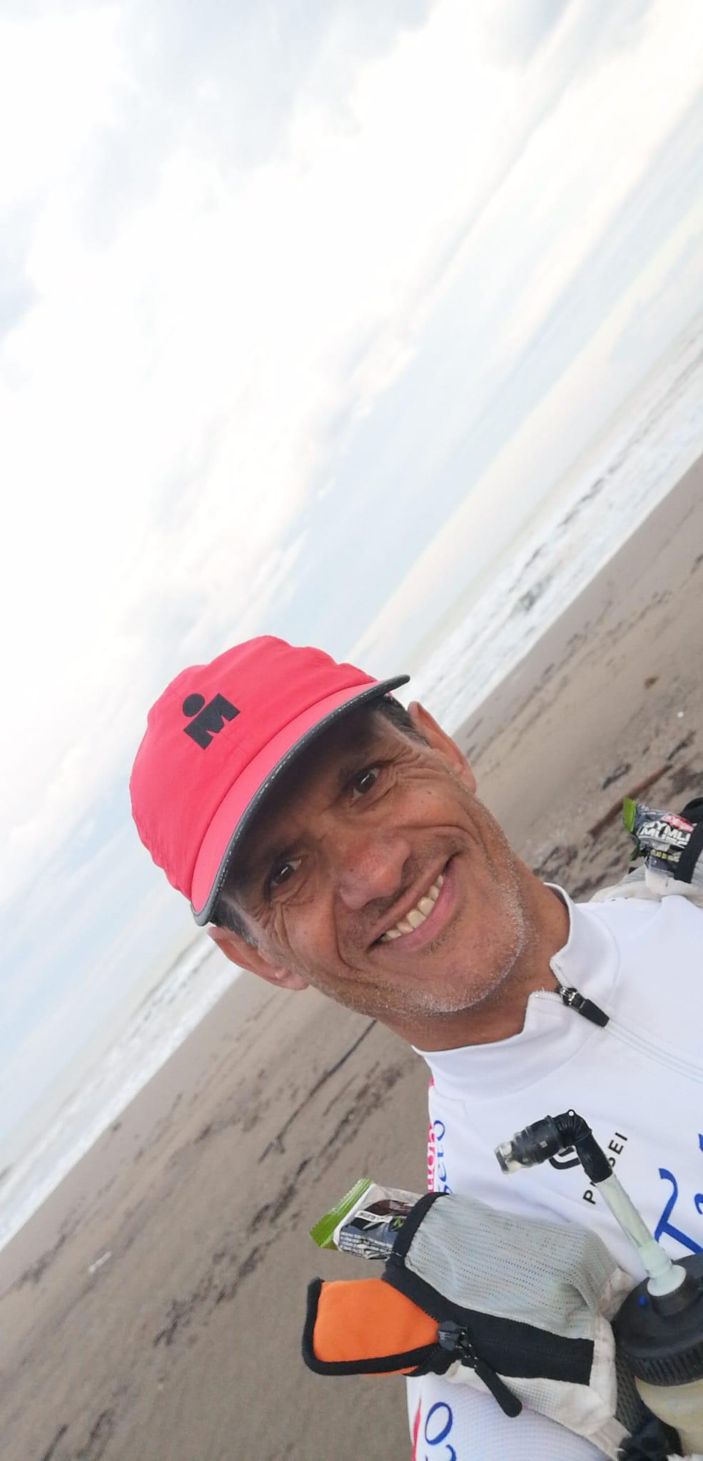 guido petrucci mare vetta mare a piedi 07 giugno 2020