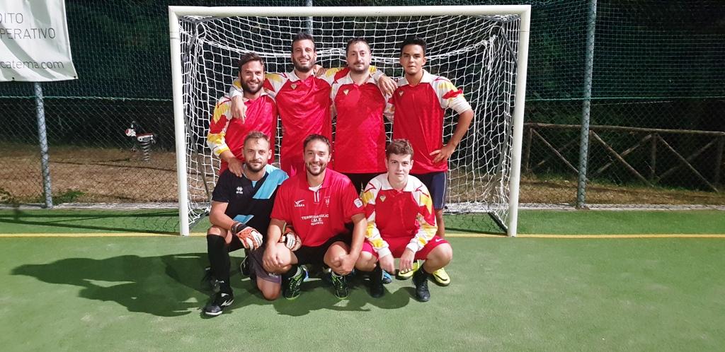 uisp calcio a 5 squadra roccalbegnarevival