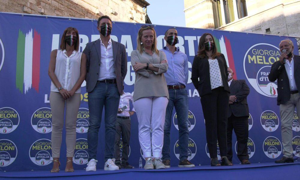 Gs Tv Regionali Fratelli D Italia Presenta I Candidati E Con L Intervento Di Giorgia Meloni Grossetosport