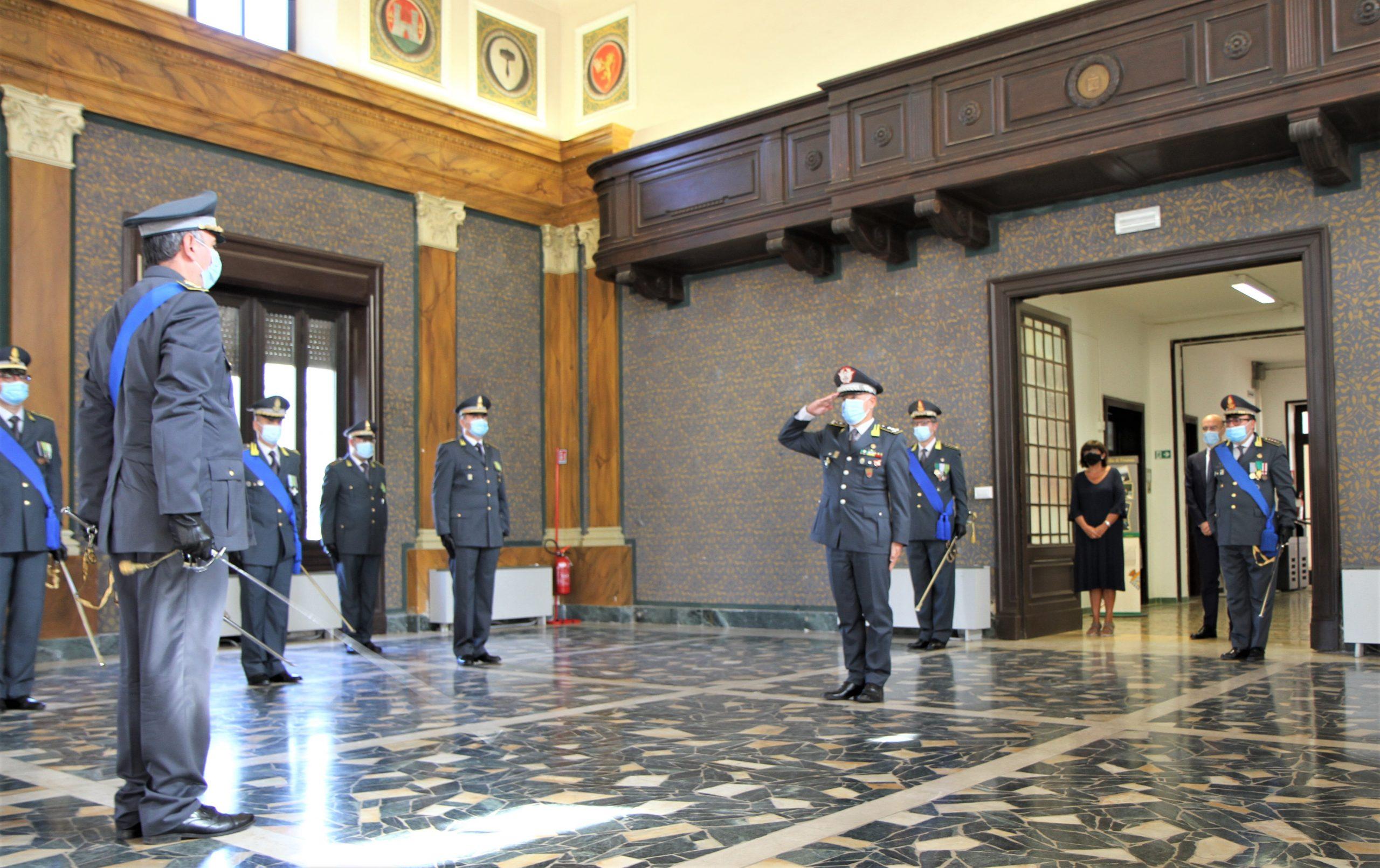 guardia di finanza Il colonnello del Gaizo lascia Grosseto1