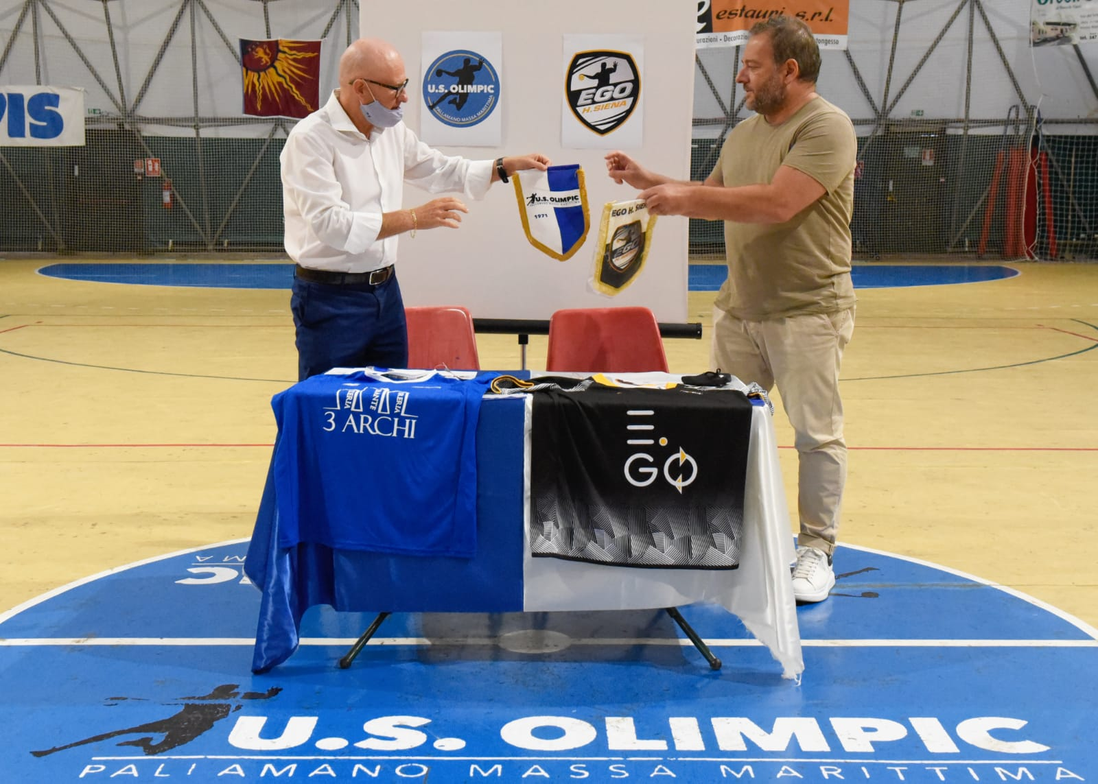 pallamano Ego Handball Siena & Olimpic Massa Marittima1