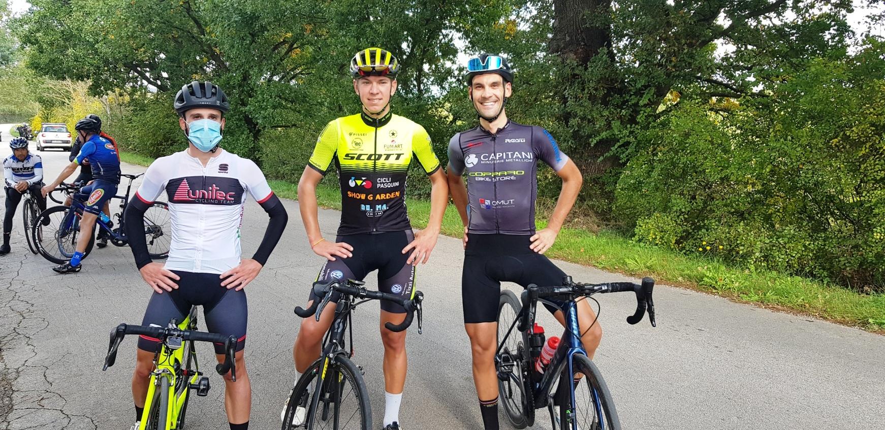 uisp ciclismo podio