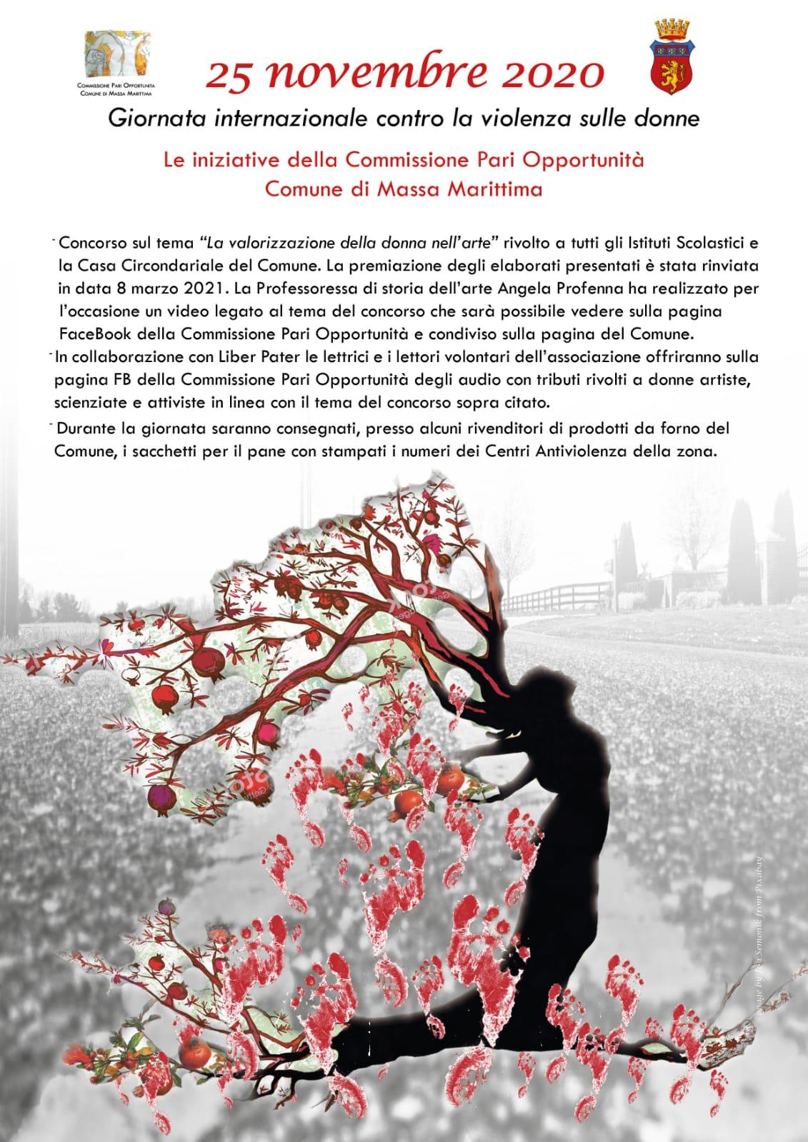 vepf0emki187wm https www grossetosport com 23 11 2020 massa marittima gli eventi per la giornata internazionale contro la violenza sulle donne del 25 novembre 178010