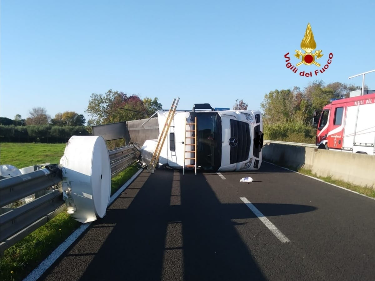 incidente stradale aurelia