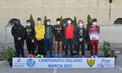 atletica-ostia-podio-Iori-marci