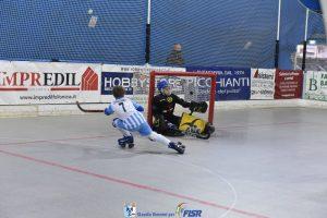 hockey pista castiglione della pescaia un gol di cornacchini riparbelli under 13