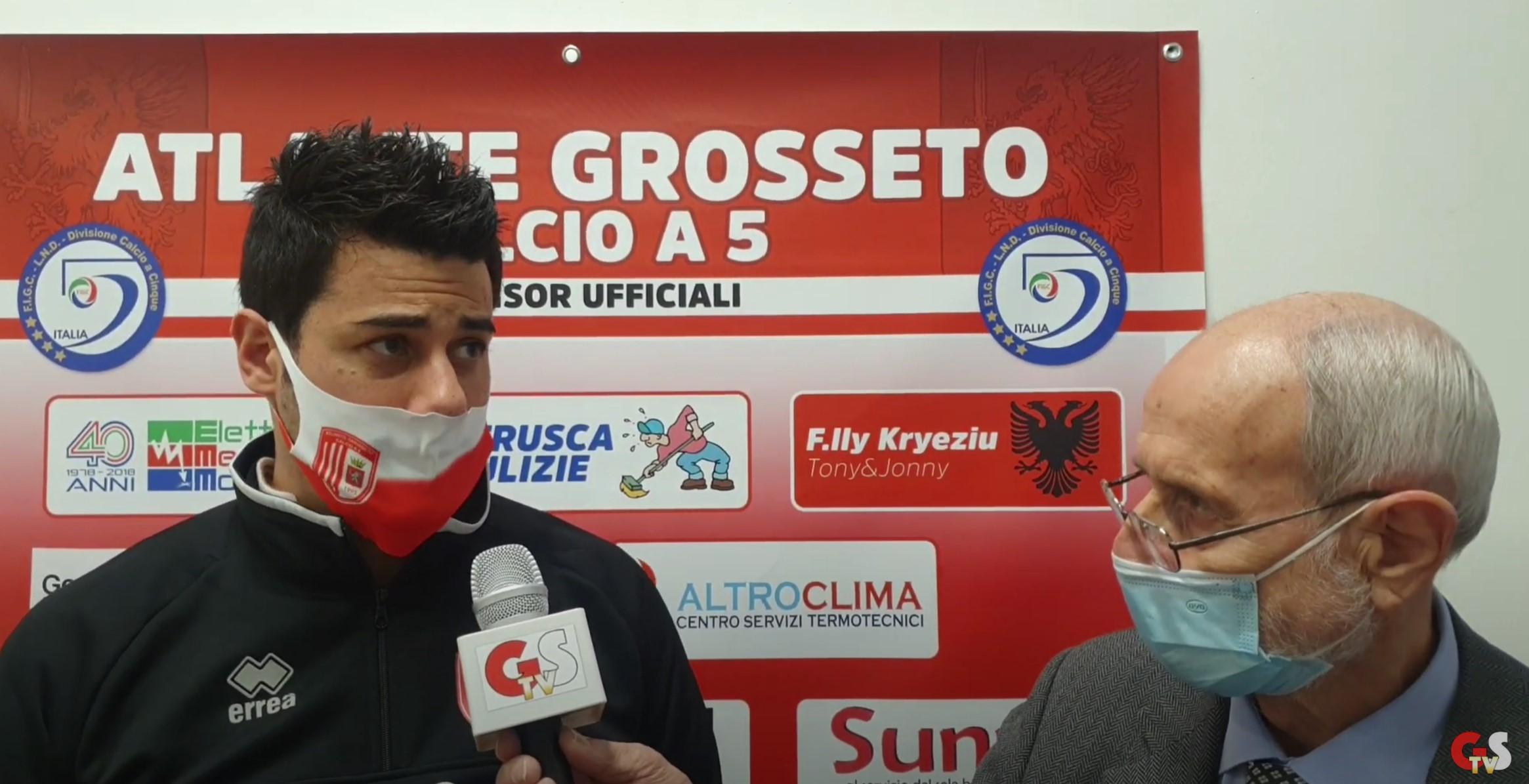 Gs Tv - Alessandro Izzo intervistato da Franco Ciardi dopo Atlante-Lastrigiana 6 a 4