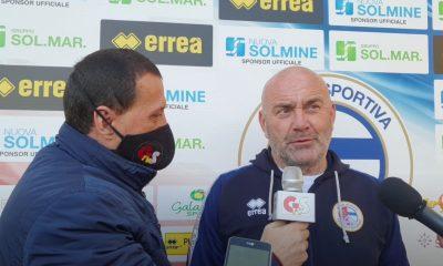 Gs Tv - mister Favarin intervistato dopo Us Follonica Gavorrano-Aquila Montevarchi 0 a 1