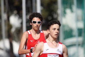 atletica-marciatori-Iori_Borzi-sulla-pista-del-campo-Zauli-a-Grosseto