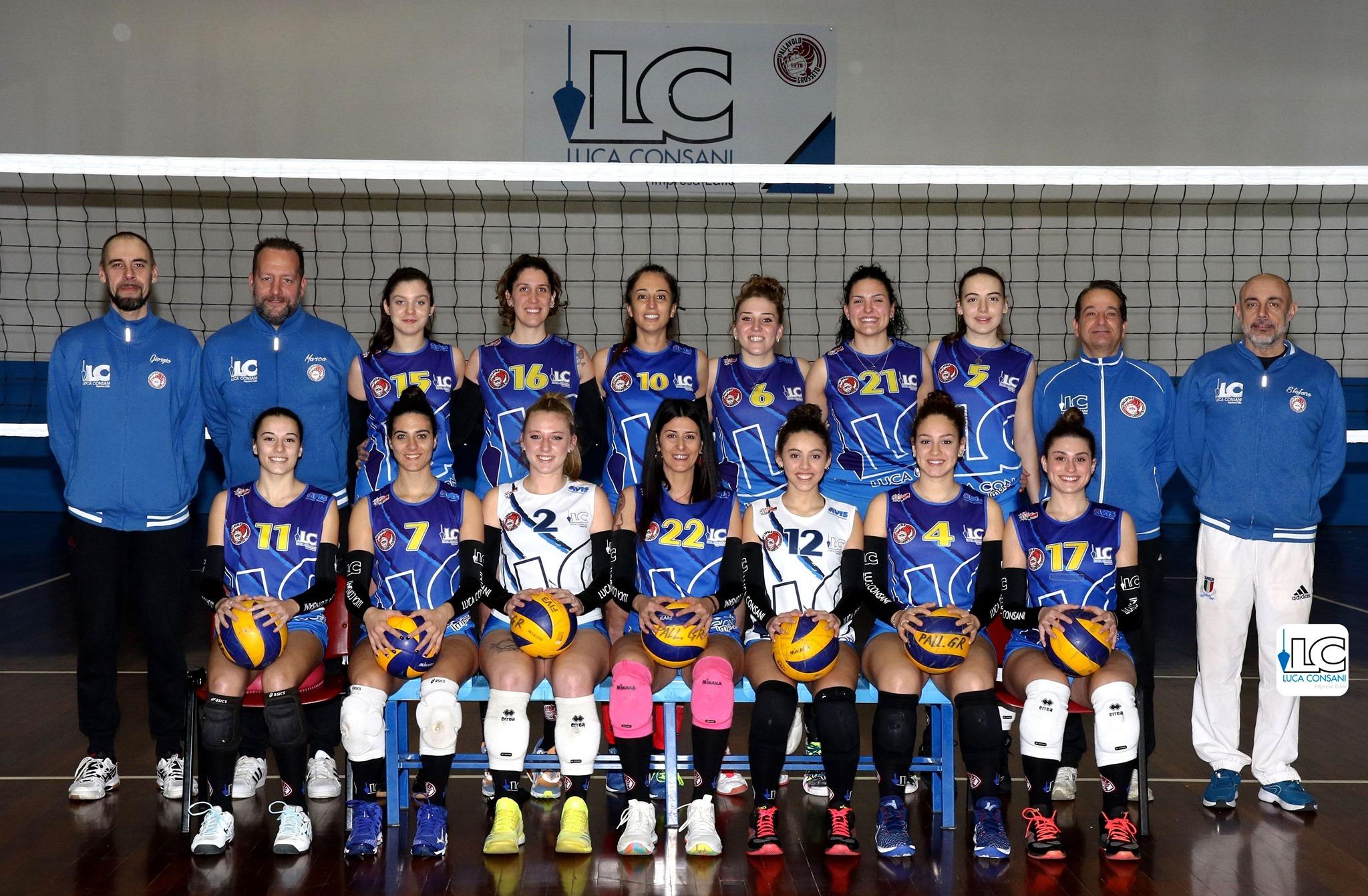 pallavolo-grosseto-1978-luca-consani-squadra-femminile-serie-C-2021