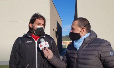 Gs Tv - mister Consonni intervistato dopo Us Grosseto-Livorno 0 a 2 - campionato Primavera 3