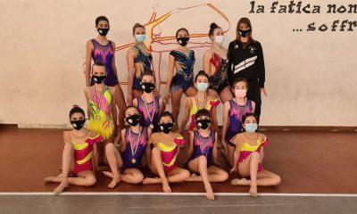 Uisp-squadra-ragazze-sezione-ritmica-della-Polisportiva-Barbanella-Uno.