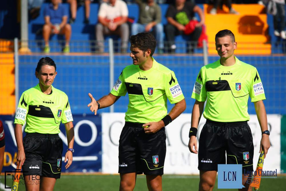 L'arbitro Ancora (foto da Terzo Binario News)