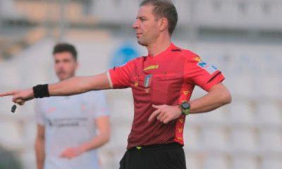 L'arbitro Enrico Maggio di Lodi (foto di Ivan Benedetto)