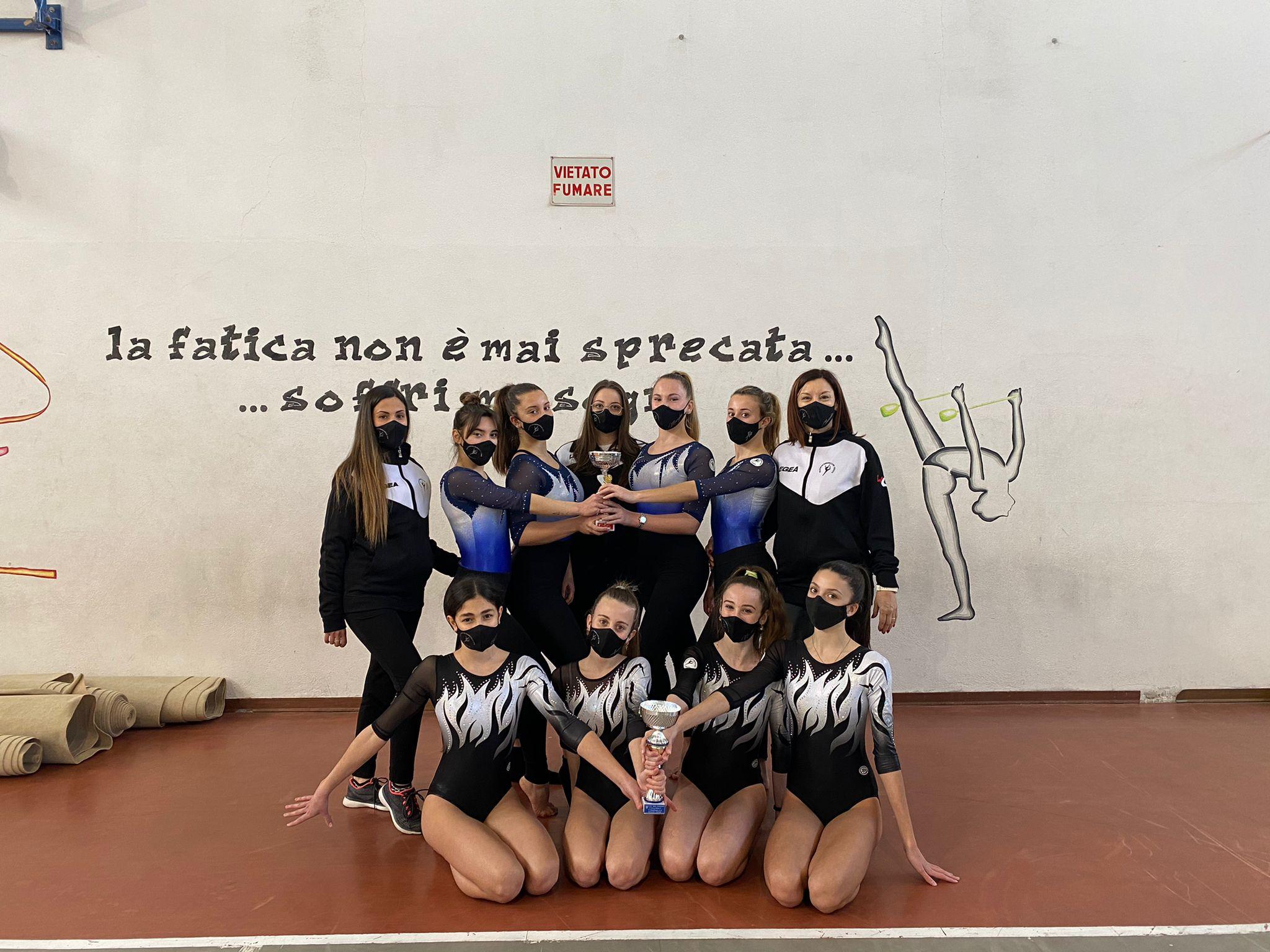 ginnastica-artistica-squadra-1-e-3-divisione-polisportiva-barbanella-uno