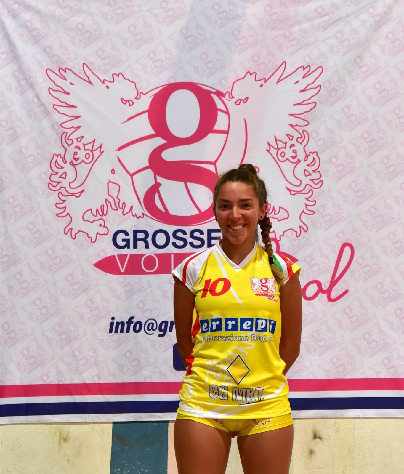 grosseto-volley-school-Laura-Cherubini-libero-squadra-serie-B2