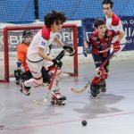 hockey-pista-circolo-pattinatori-grosseto-Under-15-Cieloverde-Forte-azione-di-gioco