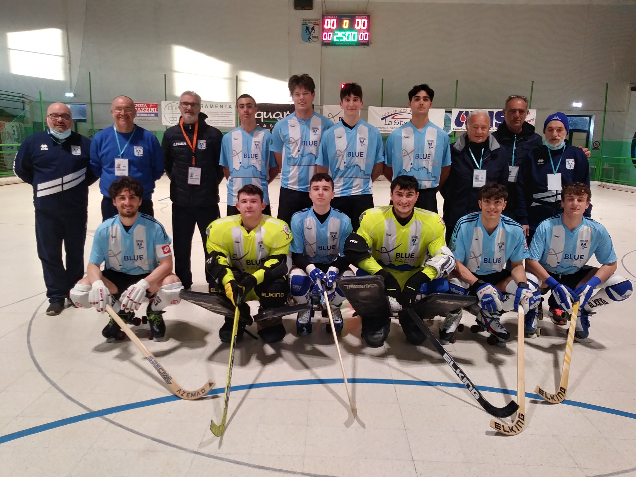 hockey-pista-serie-A2-formazione-blue-factor-contro-il-forte-dei-marm