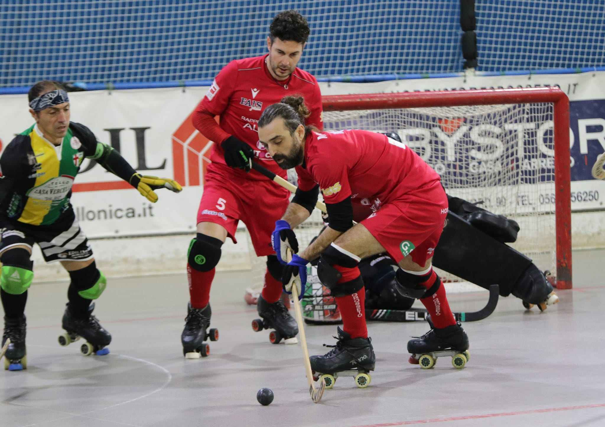 hockey-pista-serie-B-circolo-pattinatori-grosseto-Alice-Vercelli-Matassi-e-Borracelli