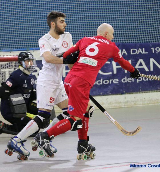 hockey-pista-serie-B-derby-RRD-Alice-Bianchi-e-Polverini