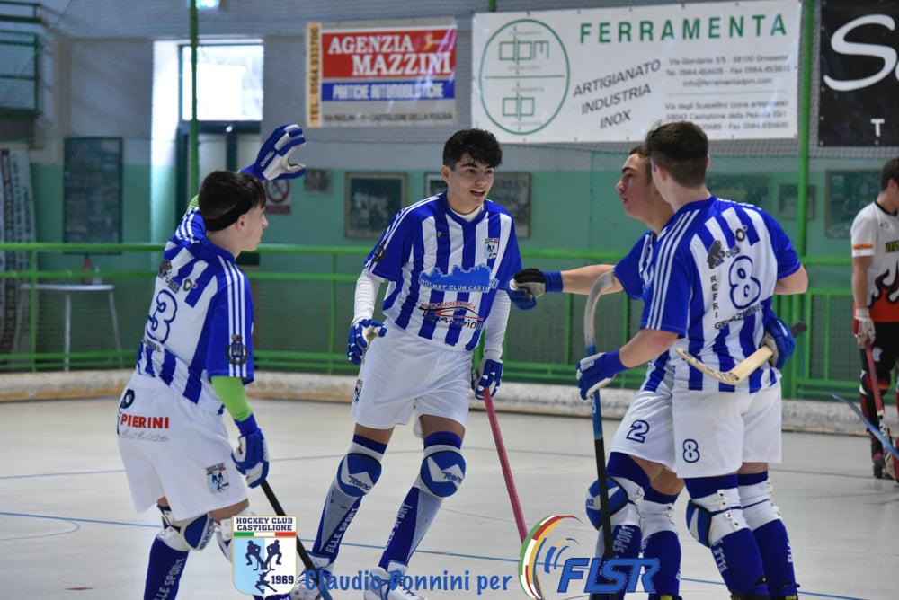 hockey-pista-squadra-under-17-Castiglione-vs-Spv-Viareggio