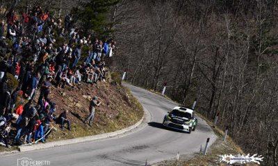 Marco Ferretti (Maremmarally) l'equipaggio Basso-Granai su Skoda Fabia R5 vincitore della 42° edizione del 2019