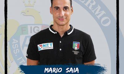 L'arbitro Mario Saia (foto tratta dalla pagina Facebook ufficiale dell'Aia di Palermo)