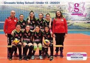 grosseto-volley-school-squadra-serie-under-13-stagione-2021.