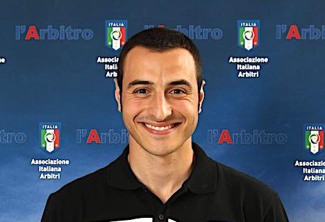 L'arbitro Davide Moriconi