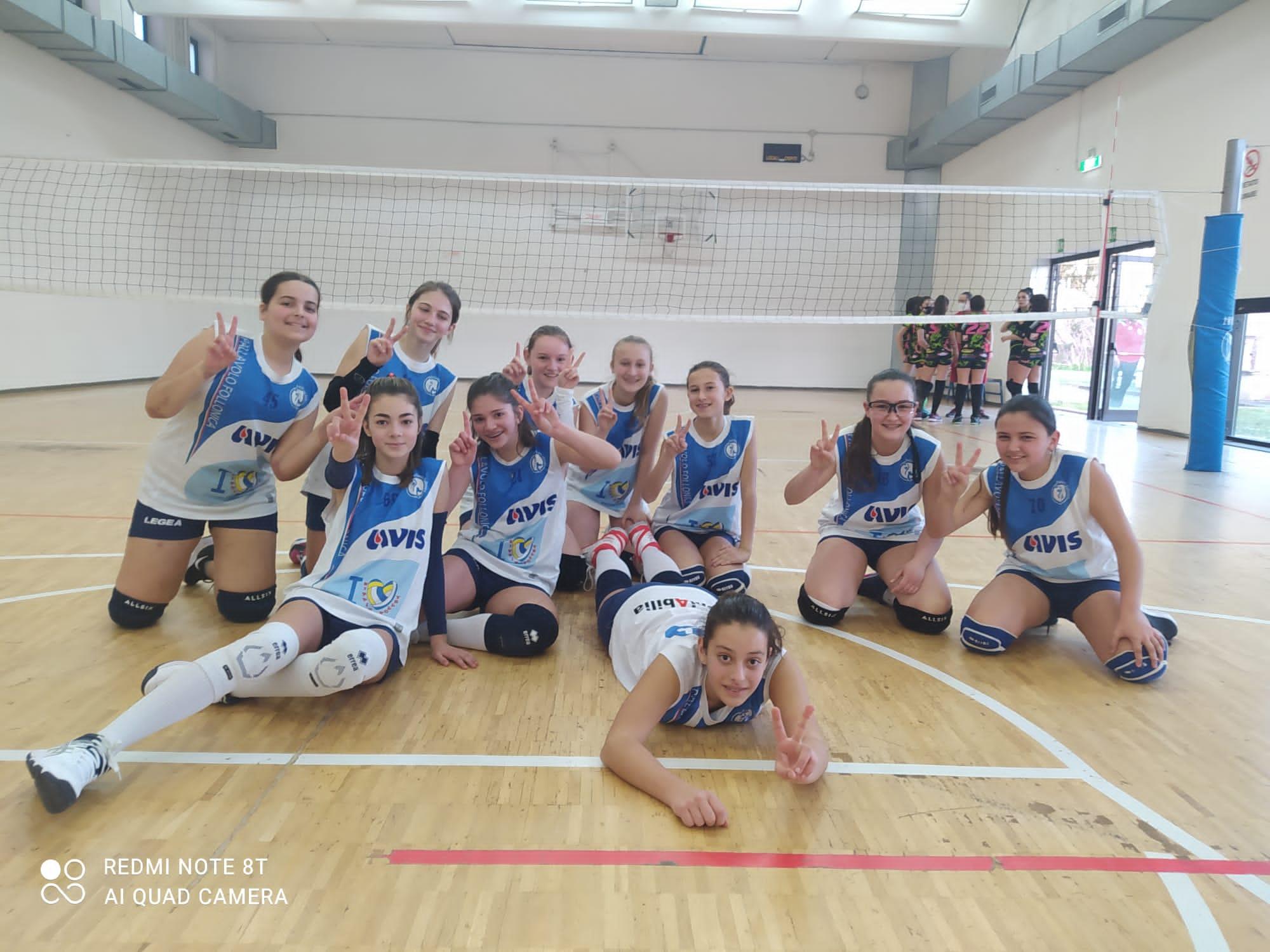 pallavolo-follonica-squadra-under-13-festeggia-il-successo